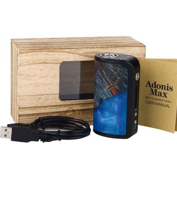 Adonis Max - 100W Stabilized Wood TC MOD - Arctic Dolphin