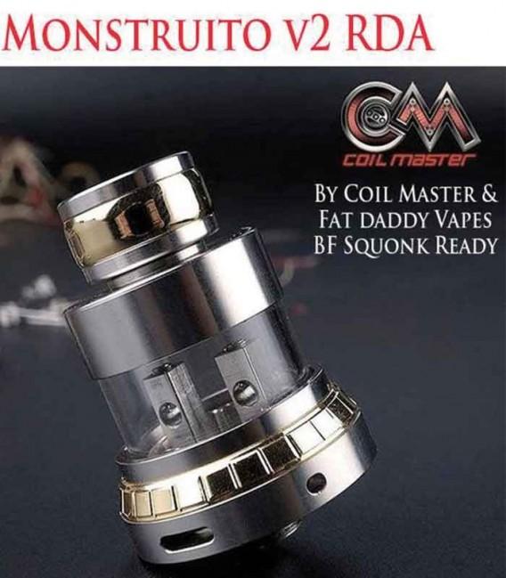 Monstruito Flying Saucer RDA - Coil Master