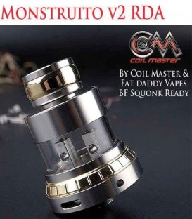 Monstruito Flying Saucer RDA - Coil Master