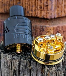 Temple NP - Neutral Post 30mm RDA - Vaperz Cloud