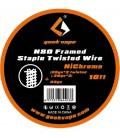 GeekVape N80 Framed Staple Twisted Wire - (26GAx2 Twisted+26GAx2)+32GA - 3M