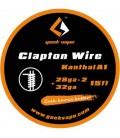 GEEKVAPE TWISTED CLAPTON KANTHAL A1 - (28GA*2 + 32GA) 5M