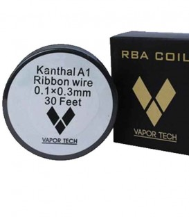 Vapor Tech Kanthal A1 Ribbon wire 0.1x0.3 10m