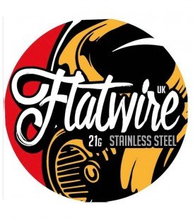 Flatwire UK Stainless Steel 21G 3 MT