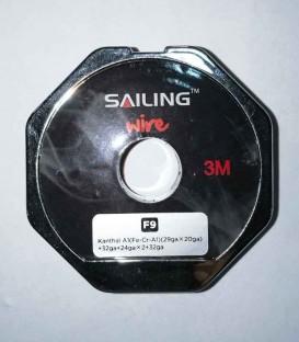 Maggiori dettagli di Sailing Electronics Volcano Wire Kanthal A1 (29ga x 20ga)+32ga+24ga x2 +32ga