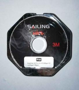 Sailing Electronics Staircase Wire Kanthal A1 26gax2 + (35gax18ga)