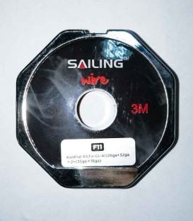 Sailing Electronics Juggernaut Wire Kanthal A1 28ga+32gax2+(35gax18ga)