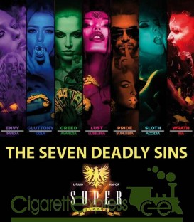 THE SEVEN DEADLY SINS - MIX SERIES 50+10ML