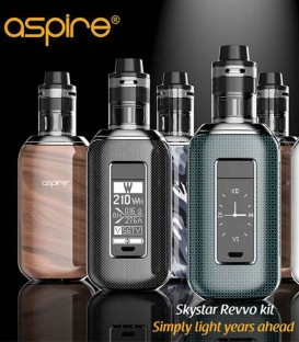Skystar Revvo Kit - 210W Touch Box Mod - Aspire