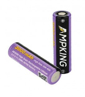 Ampking litio 3.7V - 20700 - 3000mAh - 40A