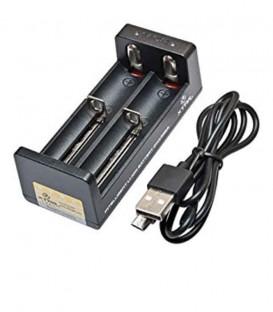 Maggiori dettagli di Caricabatterie XTAR MC2 0.5A