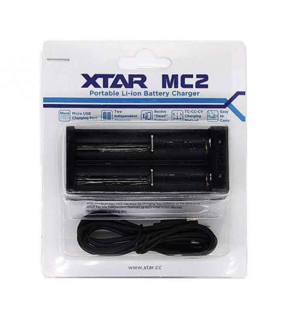 Caricabatterie XTAR MC2 0.5A