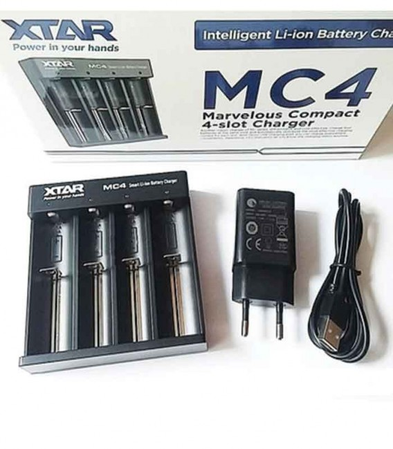 Caricabatterie XTAR MC4 0.5A
