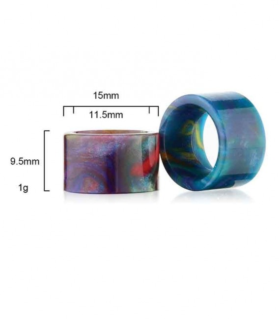 Drip Tip per Recoil RDA - in resina epossidica - Sailing Electronics Technology Co.
