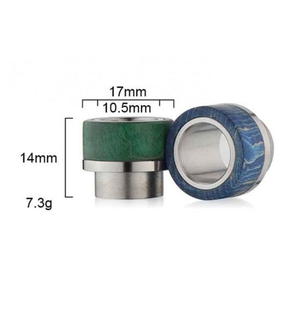 Drip Tip per Goon 528 RDA - Legno Stabilizzato - Sailing Electronics Technology Co.