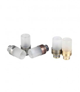 Drip Tip in Acciaio e Vetro - Sailing Electronics Technology Co.