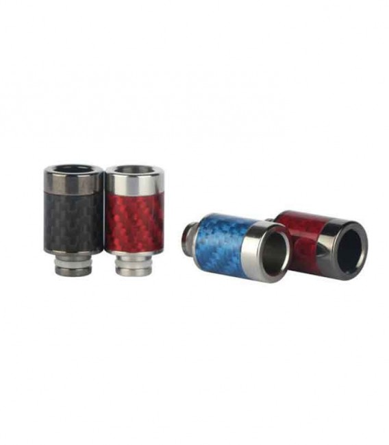 Drip Tip in Acciaio e Carbonio - Sailing Electronics Technology Co.