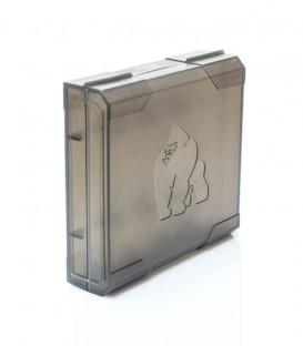 Maggiori dettagli di Custodia rigida 4 batterie 18650 - Chubby Gorilla