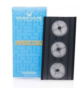 Maggiori dettagli di Vandy Vape Maze Head Coil