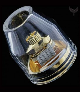 Bullet Glass Cap per Dot24 24mm - Trinity Glass Vape