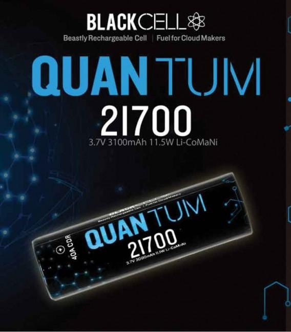 Batteria Blackcell Quantum 21700 - confezione singola - 3000mAh - 40A