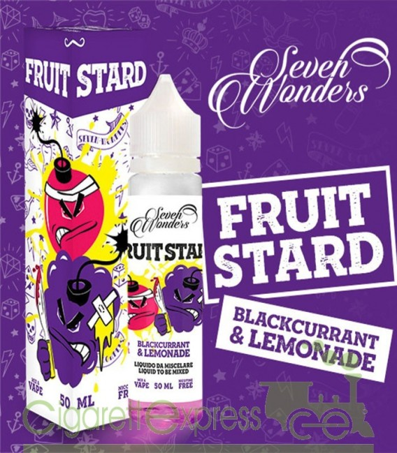 Fruitstard - Mix Series 50ml - Seven Wonders