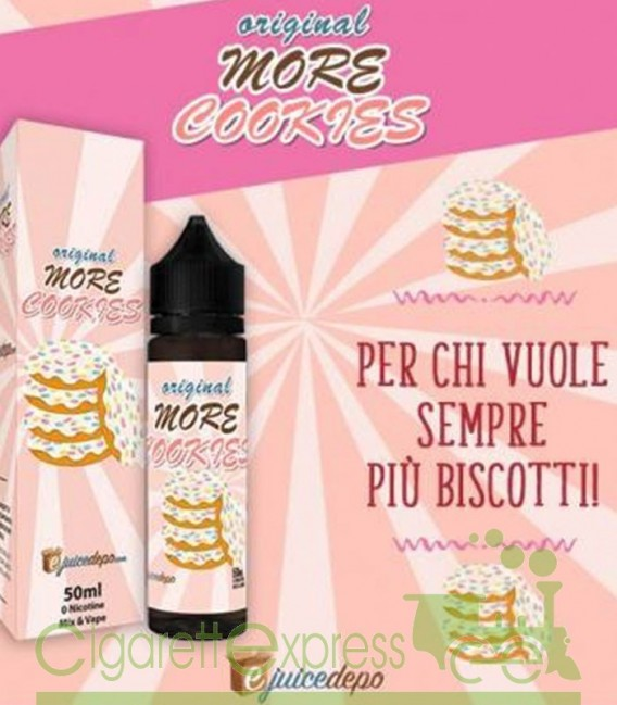 More Cookie - Mix Series 50ml - EjuiceDepo
