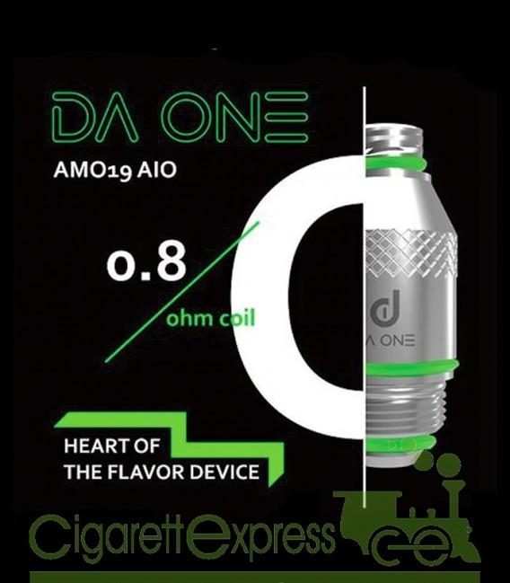 AMO19 Head Coil  - 0.8ohm - Da One