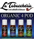 """Organic 4 POD"" by La Tabaccheria - Estratto concentrato 10ml"