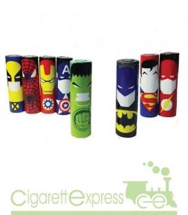 Maggiori dettagli di Wrap Batterie serie Marvel - 18650 - Rivestimento batterie