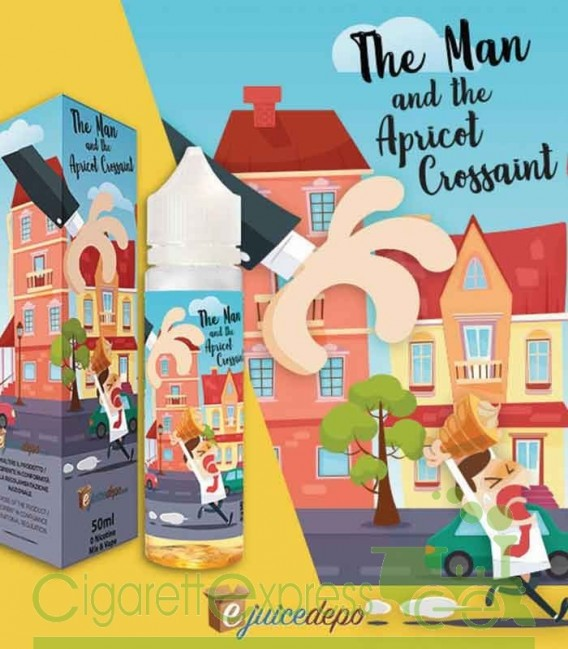 The Man and The Apricot Croissant - Mix Series 50ml - E-Juice Depo