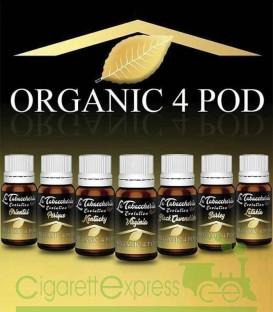 """Maggiori dettagli di """"Organic 4 POD Single Leaf"""" by La Tabaccheria - Estratto concentrato 10ml"""