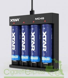 Maggiori dettagli di Caricabatterie XTAR MC4S 0.5A