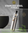 dotStick Stainless Steel - 18350/18650 Kit - dotMOD