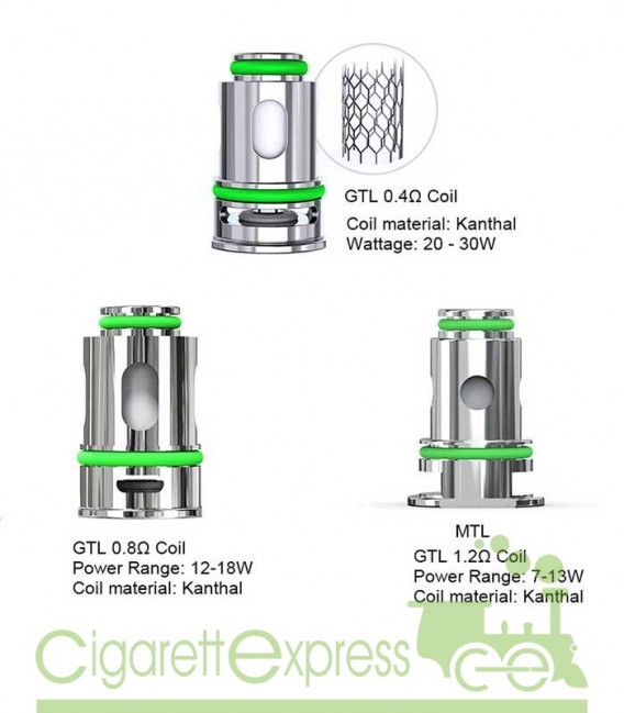 GTL Head Coil 0.4ohm - Eleaf