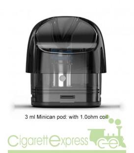 Minican Pod 3ml 1,0ohm - Ricambio per Minican e Minican Plus - Aspire