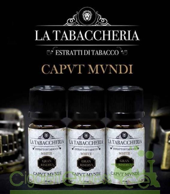 Caput Mundi Gran Riserva - Estratto di tabacco organico - Aroma Concentrato 10 ml - La Tabaccheria