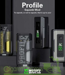 Profile Squonk Mod 80/200W - Wotofo
