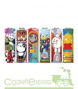 Wrap Batterie serie Cartoon - 20700/21700 - Rivestimento batterie