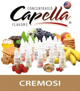 """Cremosi"" by Capella Flavors - Aroma concentrato 13ml"