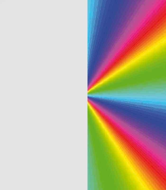 Rainbow/Bianco