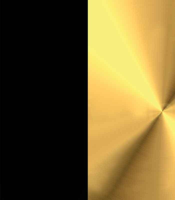 Engraved Black Gold