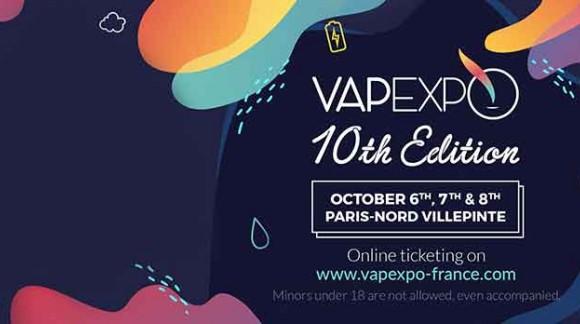 Vapexpo Paris - 6/8 Ottobre 2018