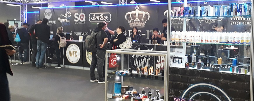 VAPING EXPO – MILANO – 11/13 OTTOBRE 2019