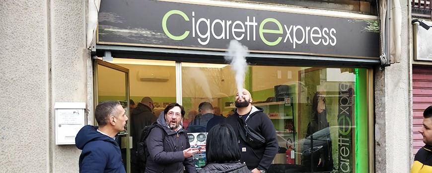 Inaugurazione Cigarettexpress Cologno Monzese – 01 Febbraio 2020